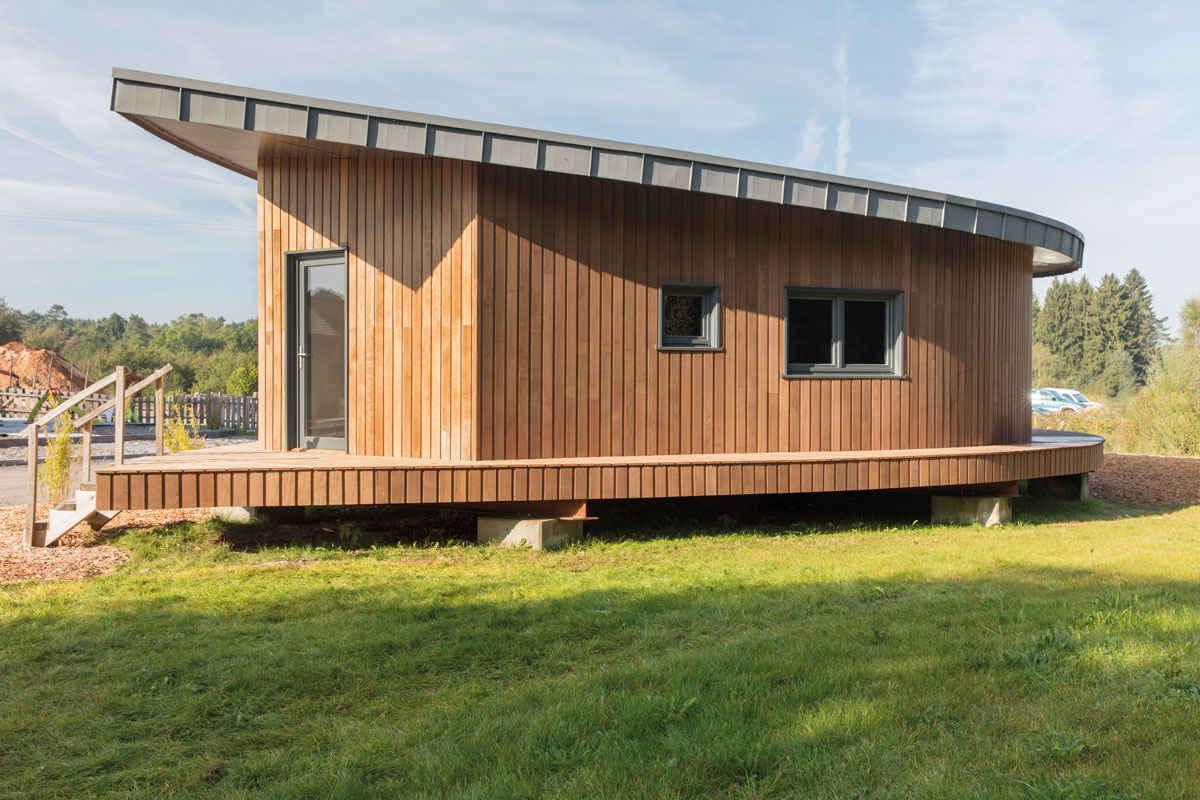 Bardage Bois Vertical Interieur bois torréfié® - scierie scidus - Étalle belgique